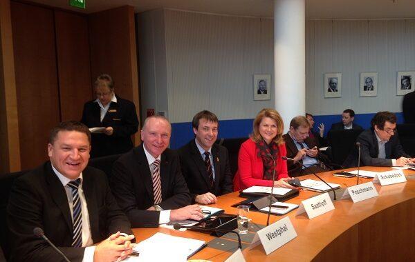 Marcus Held bei der ersten Sitzung des Ausschusses für Wirtschaft und Energie