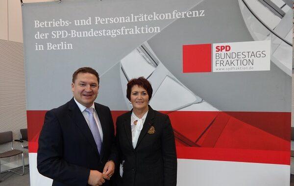 Auch die SPD-Bundesfraktion legt großen Wert auf den Kontakt zu Betriebsräten