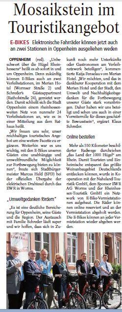 20.04.2015/Allgemeine Zeitung Landskrone: