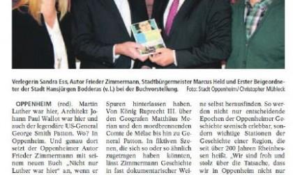 """14.01.2017/Lokalanzeiger: """"Nicht nur Luther war hier"""""""